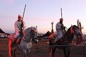 Soldats marocains.