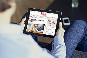 Viva a d'abord mené un audit complet de ses supports avec Ultramedia : magazine mensuel, site grand public, réseaux sociaux...