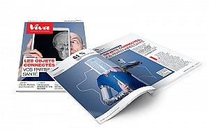 Refonte éditoriale et graphique du magazine papier, devenu trimestriel.